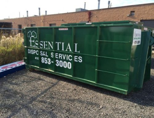 How A Waste Bin Rental in Mississauga Works With This Commercial Roof Maintenance Checklist