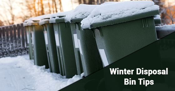 Winter Disposal Bin Tips