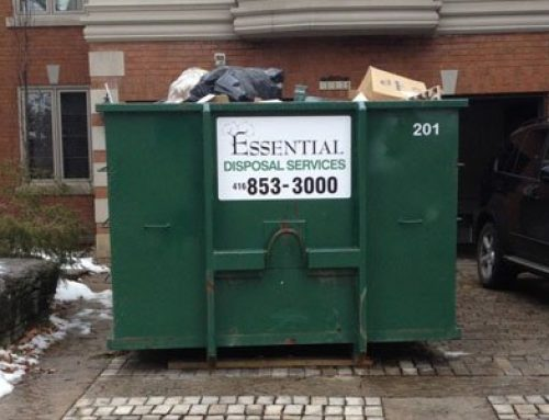A Mississauga Waste Bin Rental Clears Space for That New Livingroom
